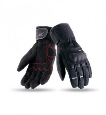 Guantes Seventy Degrees SD-T25 Touring Mujer Invierno Negro