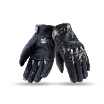 Guantes Seventy Degrees SD-N19 Naked Hombre Invierno Negro Gris