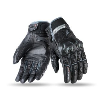Guantes Seventy Degrees SD-N32 Naked Hombre Verano Negro Gris