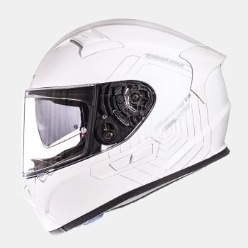 Casco MT KRE SV Solid Brillo Blanco Perlado