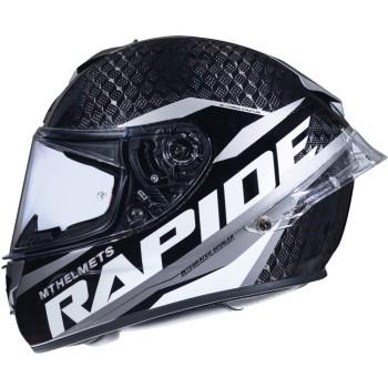 Casco MT RAPIDE Pro Carbon C2 Brillo Gris