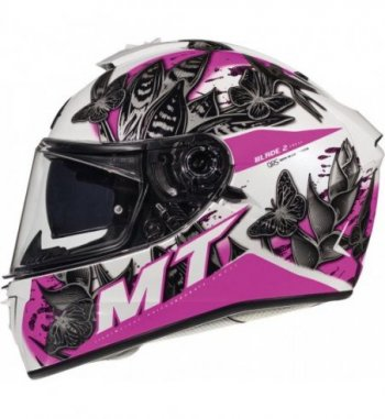 Casco MT BLADE 2 SV Breeze D8 Brillo Rosa Perlado