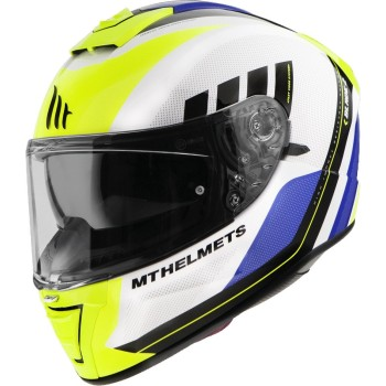 Casco MT BLADE 2 SV Plus A3 Brillo Amarillo Flúor