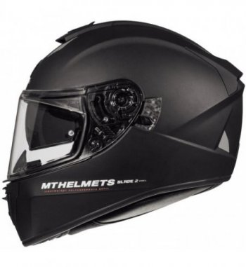 Casco MT BLADE 2 SV Solid A1 Brillo Negro