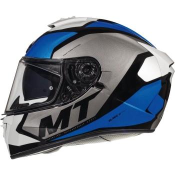 Casco MT BLADE 2 SV Trick C7 Brillo Azul Perlado