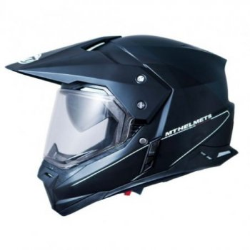 Casco MT SYNCHRONY SV Duo Sport Solid Brillo Negro