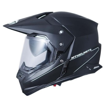 Casco MT SYNCHRONY SV Duo Sport Solid Mate Negro