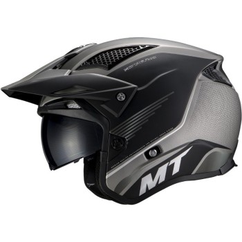 Casco MT DISTRICT SV Post B2 Mate Gris