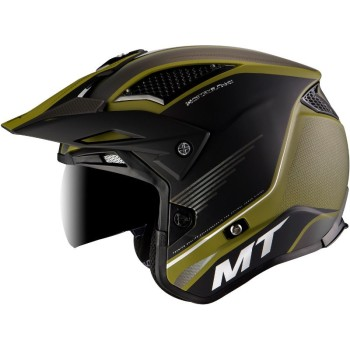 Casco MT DISTRICT SV Post B6 Mate Verde