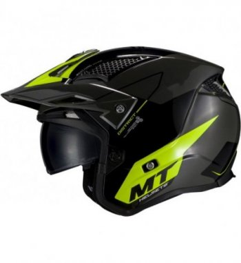 Casco MT DISTRICT SV Summit H3  Amarillo Flúor