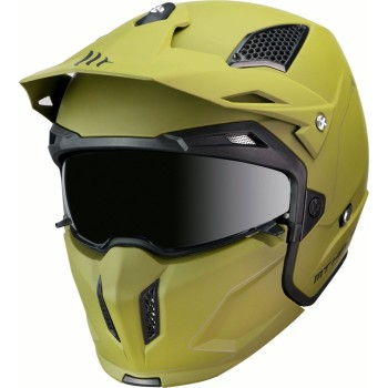 Casco MT STREETFIGHTER SV Solid A6 Mate Verde