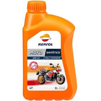 Aceite de motor REPSOL Moto Sintético 4T 10W/40
