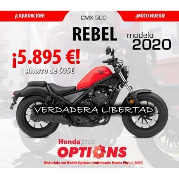 Honda CMX500 Rebel 2020 Liquidación - Roja