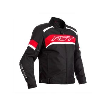 Chaqueta Textil Hombre RST PILOT Negro/Rojo