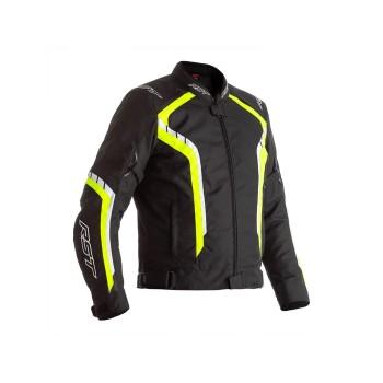 Chaqueta Textil Hombre RST AXIS Negro/Am. Flúor