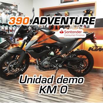 KTM 390 Adventure 2021 Unidad demo K0