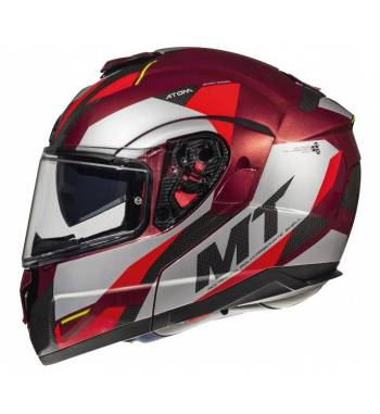 CASCO MT ATOM SV TRASCEND F5 GLOSS RED