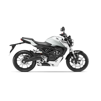 Honda CB125R Blanca 2020