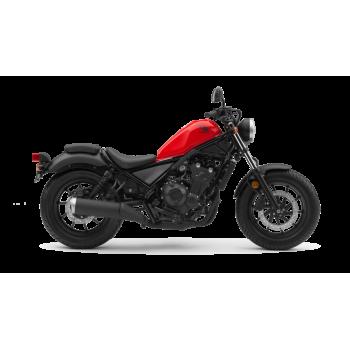 Honda Rebel 500 Roja 2019