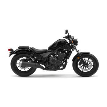 Honda Rebel 500 Negra 2019