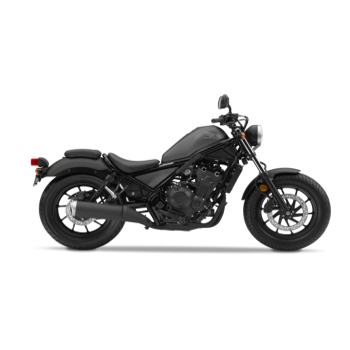 Honda Rebel 500 Gris Mate 2019