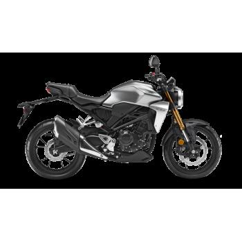 Honda CB300R Gris Plata 2020