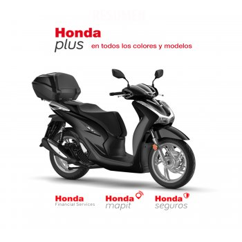 Honda SH125i 2020 con Topbox inteligente