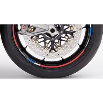 Juego adhesivos rueda Tricolor *NH1*