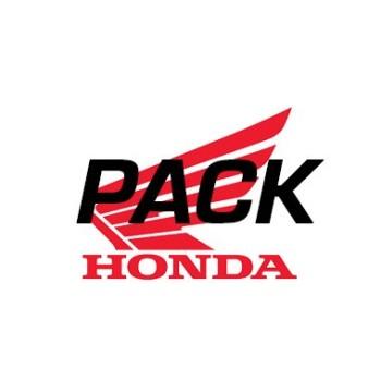 Pack Touring 2 (Protectores de motor tubulares en negro)